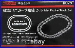 R079 Official ROKUHAN Z Gauge Mini Curve Double Track Set E (Scale 1/220)