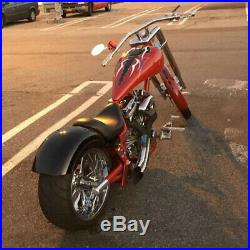 Rear Fender 14 Gauge Steel Strutless For Harley Softail Dyna Sportster Bobber