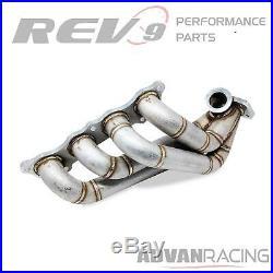 Rev9(HP-MF-K20-SWT3-11G) Turbo Manifold Stainless Steel T304 11 Gauge Pipe