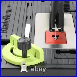Rockwell Portable Table Saw 5.5 Amp Centered Blade Adjustable Miter Gauge Corded