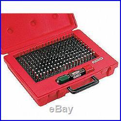 STARRETT Steel Plug Gage Set, Minus, 0.011-0.060, S4001-060