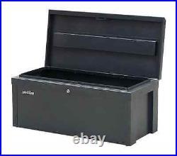 STORAGE SALE! Heavy Gauge Steel Storage Box Chest Enamel Finish Grey 765x350x320