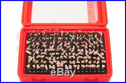 Shars. 061-1.000 M1 To M7 Class Zz Steel Pin Gage Set Minus 7 Boxes New