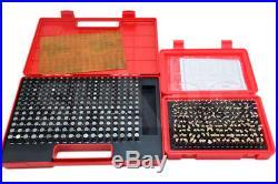 Shars 440 Pcs 0.061-0.500 M1+m2 Class Zz Steel Pin Gage Set Minus New