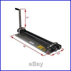 Sheet Metal Bead Roller Machine Steel Gear Drive Bench Mount 18-Gauge