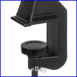 Sheet Metal Bead Roller Steel Gear Drive Bench Mount 22-Gauge Capacity with 6 Dies