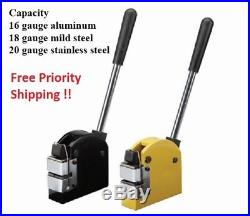 Sheet Metal Fabrication Shrinker Stretcher Set 16 18 20 GAUGE STEEL / Aluminium