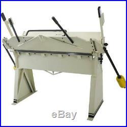 Shop Fox M1012 Box/Pan Brake 48-inch 12 Gauge Mild Steel Max