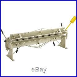 Shop Fox M1043 48-inch 16 Gauge Mild Steel Pan & Box Brake