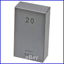 Slip Gauge Block Set Moore & Wright Metric 32 Piece Steel Grade 2 MW700-12