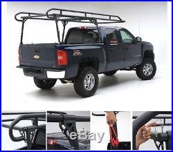 Smittybilt 2 Heavy Gauge Steel Fully Adjustable Full Size Truck Contractor Rack
