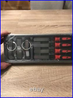 Snap On Feeler Gauge Blade And Handle Set Red 86 Piece Set Metric & Imperial NEW