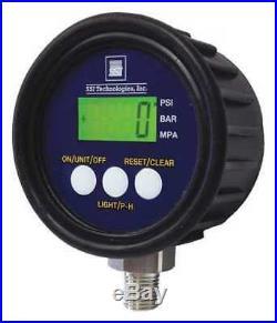 Ssi Mg1-5000-A-9V-R Digital Pressure Gauge, 0To5000psi, Mg1-9V