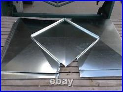 Supply Air Duct Plenum 20 X 20 X 20 Long Galvanized Steel 26 Gauge