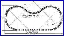 Track Set In 7 1/2 7 1/4 Gauge 30 Foot Dia