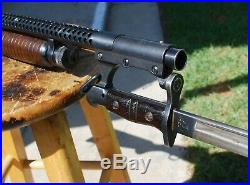 Trench 12 gauge shotgun reproduction heat shield with Blade lug