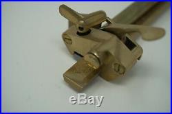 Vergez Blanchard Plough Gauge Strapz Belt Cutter with Blade 150mm France NEW
