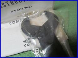 Vintage NOS Lyman Cutts Compensator 20 gauge Black Steel Main Body with690 Adapter