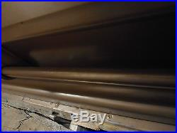 Vintage US Military Korean War Era Burial Casket (18 gauge steel)