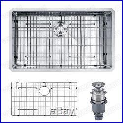 WKOH 30 inch undermount Laundry/Utility Sink 16 gauge stainless steel kitchen