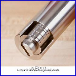 Woodpecker Panel Gauge 600mm Stainless Steel Bar