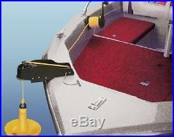 Worth Anchormate II Anchor Control Winch Heavy Gauge Steel Black 27536