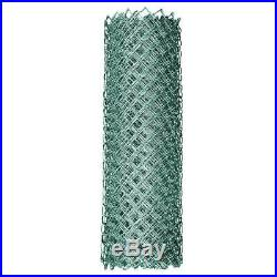 YARDGARD Chain Link Fabric Fence System 5 ft. X 50 ft. 11.5-Gauge Steel Silver