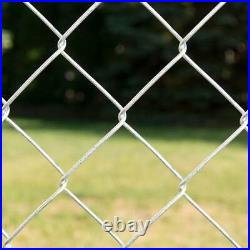 YARDGARD Chain Link Fence Fabric 5 ft. X 50 ft. 11.5-Gauge Woven Galvanized