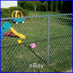 YARDGARD Chain Link Fence Fabric 5 ft. X 50 ft. Galvanized 11.5-Gauge Steel